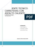 ASFALTO CALIENTE