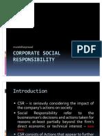 Corporate Social Responsibility - VIT