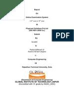 Aak Online Examination Report2