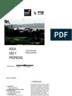 Agua_ Uso y Propiedad