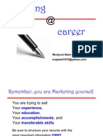 Writing for Career
