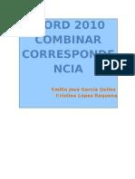 Word 2010 Combinar Correspondencia