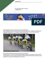1a Edizione Della Cronosquadre Del Tirreno