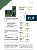 Robot Shield Data Sheet