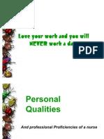 Leg 6 Personal Qualities Plus Letter Semi Finals