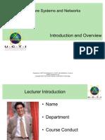UCTI HSSN 01 Introduction