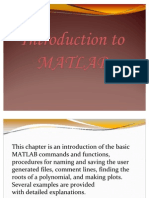 Introduction to Matlab3