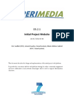 D5.2.1 Initial Website v1.01