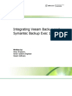 Integrating Veeam Backup and Symantec Backup