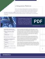 a Data Integration Platform Brochure