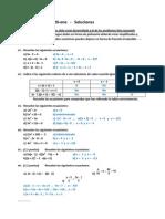 Examen 2ºMat - 26-ene   -   Soluciones