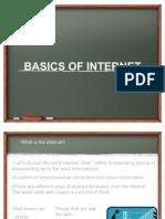 Basics of Internet