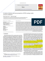 ~!!!a Study on Friction and Wear Properties of PTFE Coatings Under Vacuum Conditions