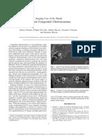 Bilateral Congenital Cholesteatoma.99673