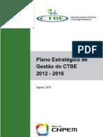 Plano Estratégico de Gestão do CTBE 2012-2016