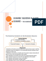 Economic Valuation in Closed Economy