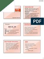 9. Data Transfer Instructions