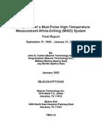 MWD Mud-pulse System SperrySun
