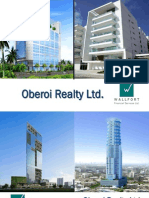 Oberoi Realty Initiation Report