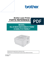 Brother d dlt Hl-5170dn_70dnlt Parts