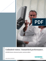 ACUSON Antares Premium Edition Brochure