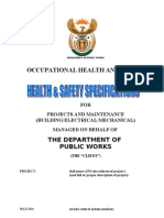 Health Safety Specification Generic