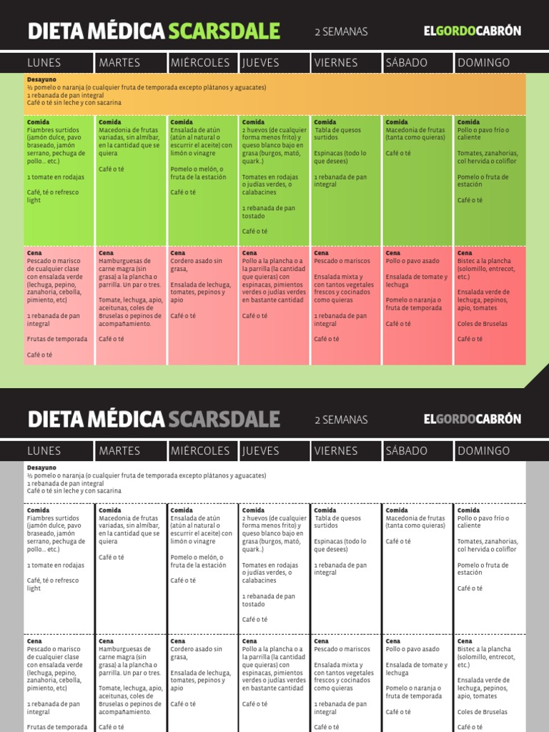 dieta scarsdale libro pdf download