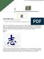 Confucianesimo - IDEOGRAMMI CINESI