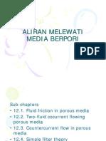 Flow Through Porous Media