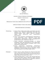 UU Nomor 2 Tahun 2012 tentang PENGADAAN TANAH