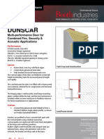BOOTH DUNSCAR Multi-Performance Steel Door Datasheet