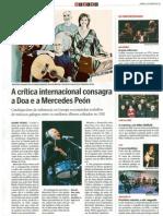 """DOA, musica de Galicia """"FUGAS"""" """"La voz de Galicia"""" A FRONDA DOS CERVOS"""
