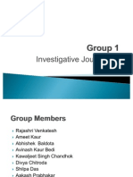 Investigative Report Ppt Final