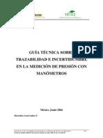Manometros-Pruebas