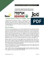 2012 Jewish Local Greens Member Registration -Jan2012 (1)