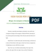 Mirage — the emergence of Elysium World
