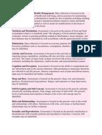 11 Functional Health Pattern
