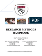 2010 Research Methods Handbook