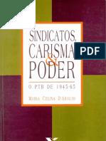 Maria Celina D'Araujo, Sindicatos, Carisma e Poder