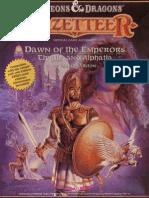 TSR 1037 - Dawn of the Emperors