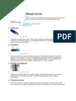 Types of Broadband Access