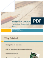 Introduction to Scientific Journals