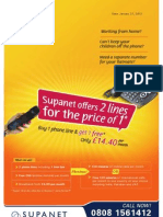 Supanet - Buy 1 Phone Line get 1 Phone for Free
