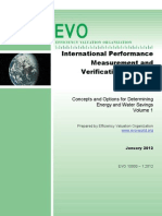 2012 International Performance Measurement and Verification Protocol (IPMVP®)