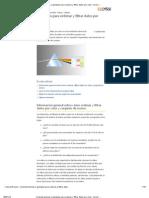Consideraciones y Ejemplos Para Ordenar y Filtrar Datos Por Color - Excel - Office