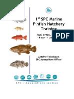 fìnish hatchery trainning-grouper-2007