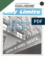 City Limits Magazine, February 1990 Issue