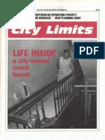 City Limits Magazine, November 1990 Issue