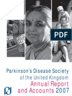 Parkinson's Disease Society Annual Report 2007
