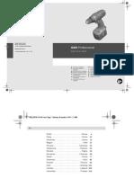 Gsr 14-4-2 Professional Manual